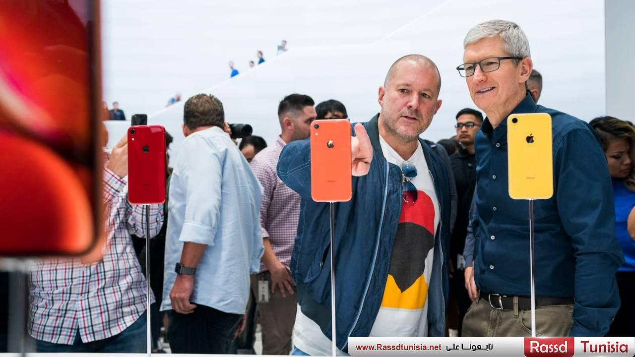 Tim Cook - Jony Ive - iPhone XR