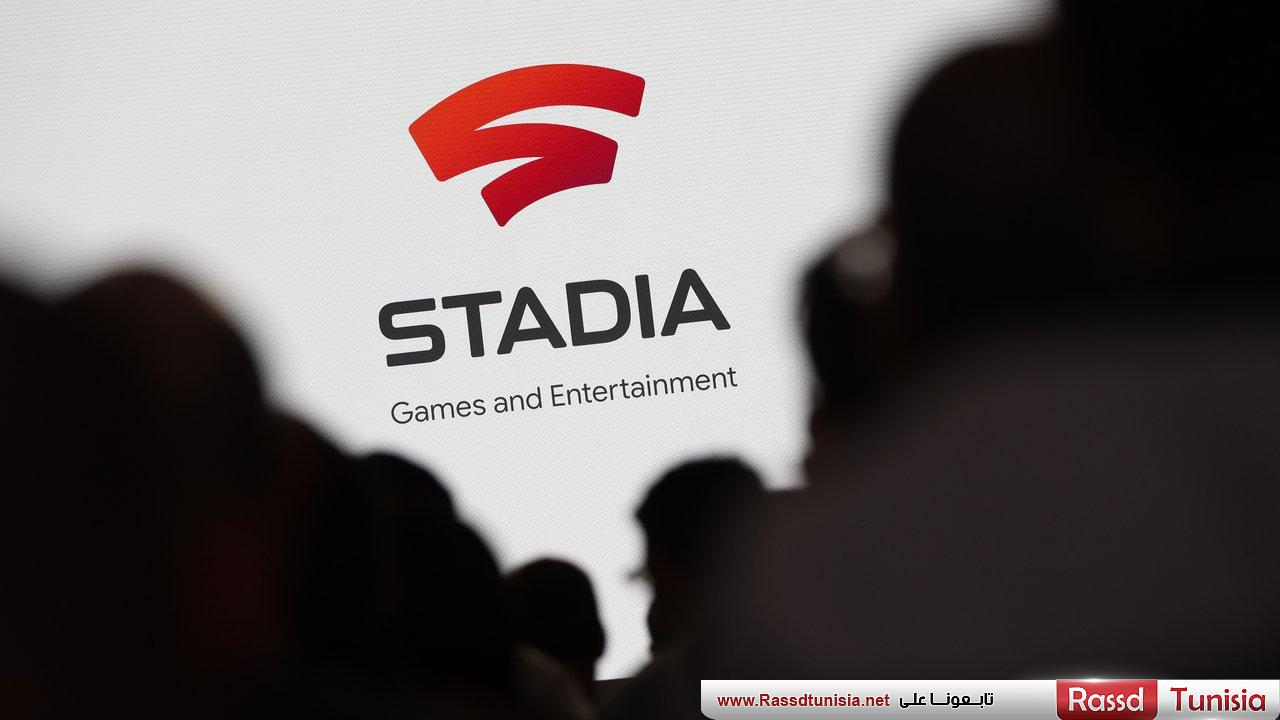 Spectators look on during a Google keynote address announcing a new video gaming streaming service named Stadia at the Gaming Developers Conference in San Francisco