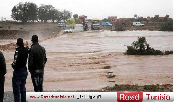 oued route circulation 1 - Rassd Tunisia
