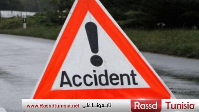فوسانة: 3 قتلى في حادث مرور