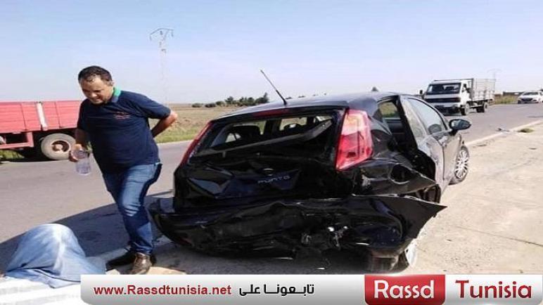 وزير داخليّة سابق يتعرّض الى حادث مرور (صور)