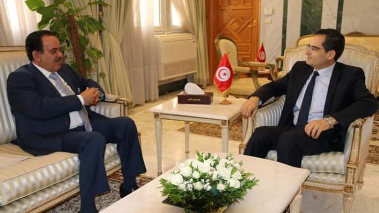 وزير الخارجية نور الدين الري يستقبل السفير القطري بتونس و يؤكد على متانة العلاقة الاخوية بين البلدين