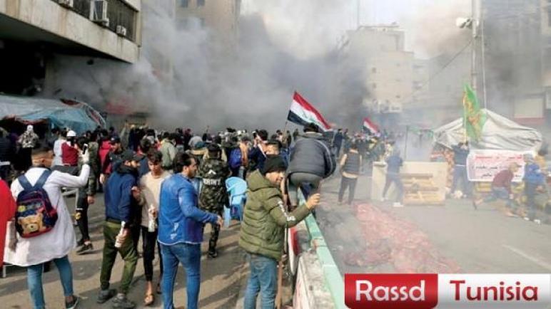 """26 ألف ضحية للاحتجاجات العراقية ورئيس الحكومة يؤكّد أنّ التعامل معهم بـ""""أبوية"""""""
