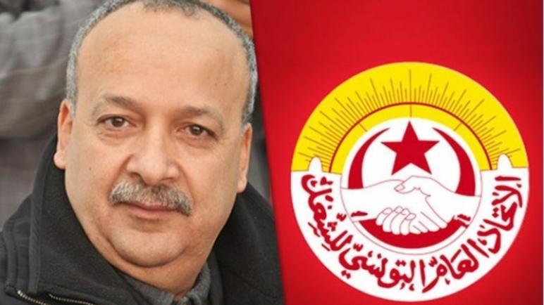 الأمين العام الإتحاد العام التونسي للشغل سامي الطاهري يدعو لتوفير 100 مليار للتونيسار