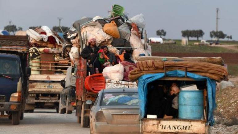 استمرار عودة النازحين في شمال غرب سورية