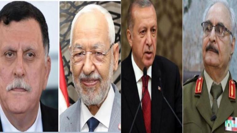 """هذه خفايا """"قاعدة الوطية"""" التي يريدها أردوغان """"عينهُ على المتوسط"""" وهنأ بها الغنوشي السراج ووعد حفتر باسترجاعها"""