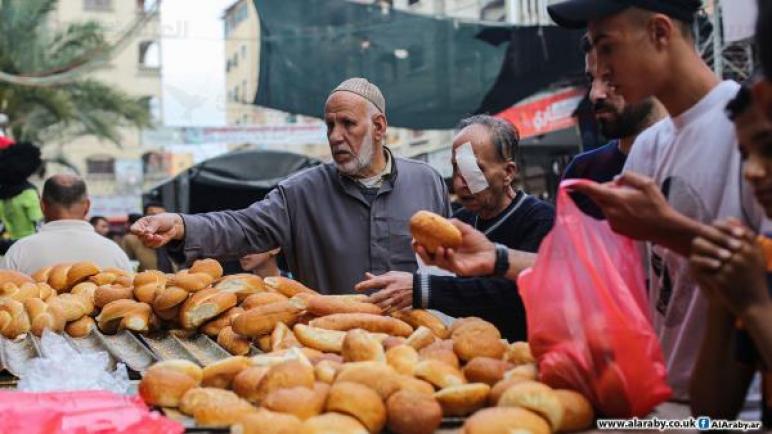 لونان للدولار في غزة بسعر صرف مختلف