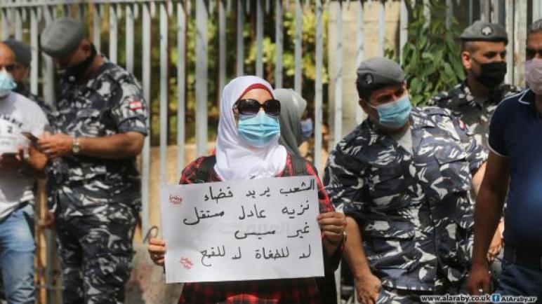 لبنانيون يستنكرون التعرض الأمني للمعتصمين… ونائب يثير الغضب بالدعوة إلى إطلاق النار