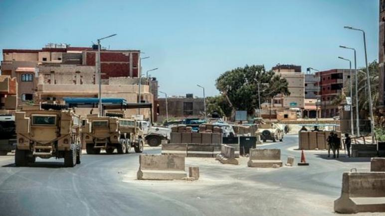 تسجيل أولى الخسائر البشرية من القوات البحرية المصرية في سيناء