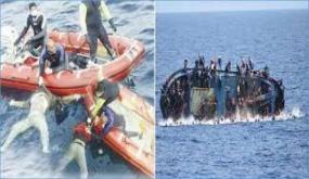 انقاذ 18 تونسيا تعطّب مركبهم عرض البحر شمال جزيرة قرقنة