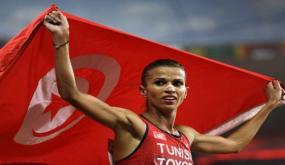 منح لقب سفير الرياضة التونسية لحبيبة الغريبي