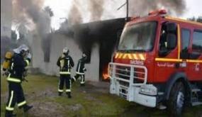 السيطرة على حريق اندلع قرب مبيت جامعي بمنوبة