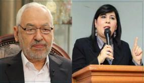 عبير موسي: لا سبيل لاستمرار الغنوشي برئاسة البرلمان