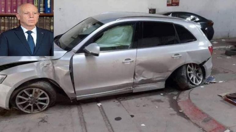قضية حادث السيارة الإدارية: تغيير المحضر وتوجيهه إلى المحكمة قبل أن يختفي الملف، وقيس سعيد على الخط