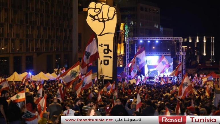 انتفاضة لبنان: قطع واسع للطرقات وعودة الزخم إلى الساحات