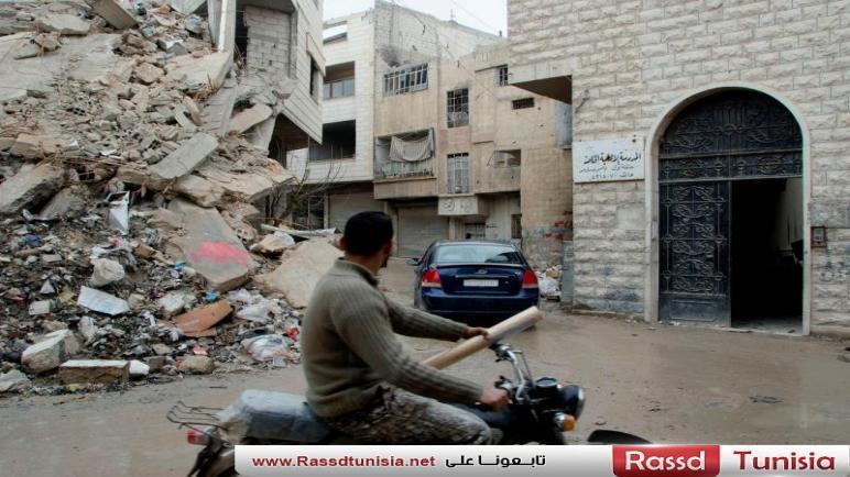 النظام يسرق عقارات الغوطة الشرقية