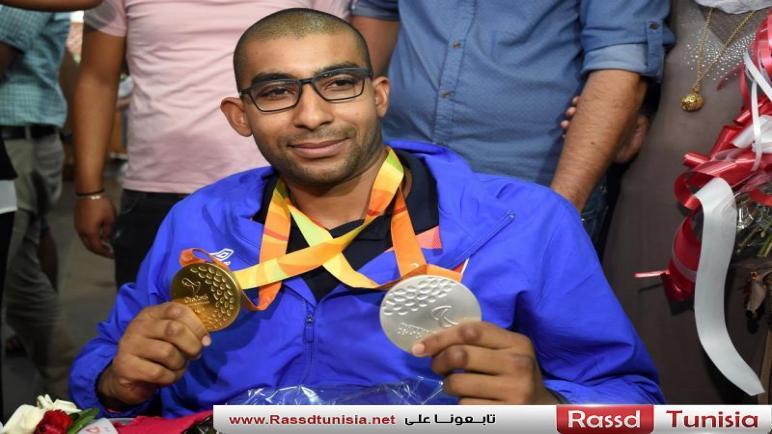 10 ميداليات مختلفة لتونس ببطولة العالم البارالمبية