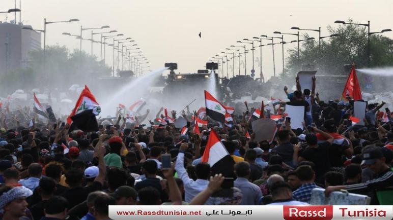 #نازل_أخذ_حقي: عراقيون يطالبون بدولة مدنية وإنهاء المحاصصة الطائفية