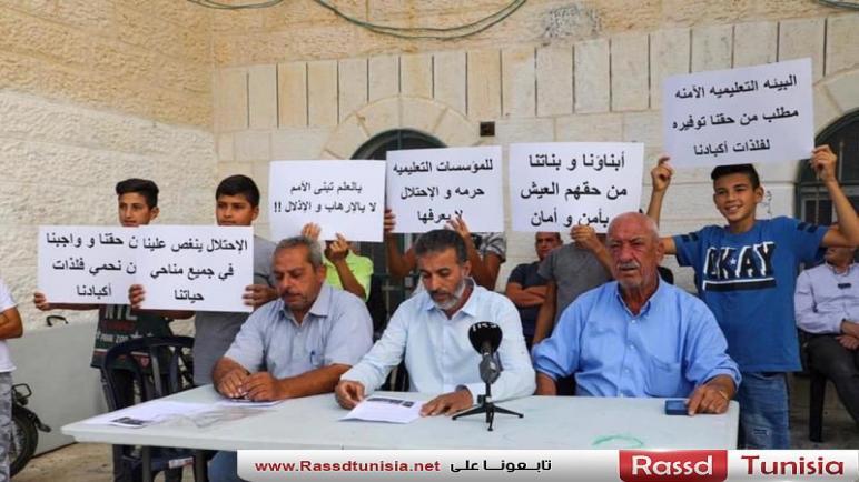 لجنة أولياء أمور الطلاب تواصل الإضراب المفتوح في مدارس العيسوية بالقدس