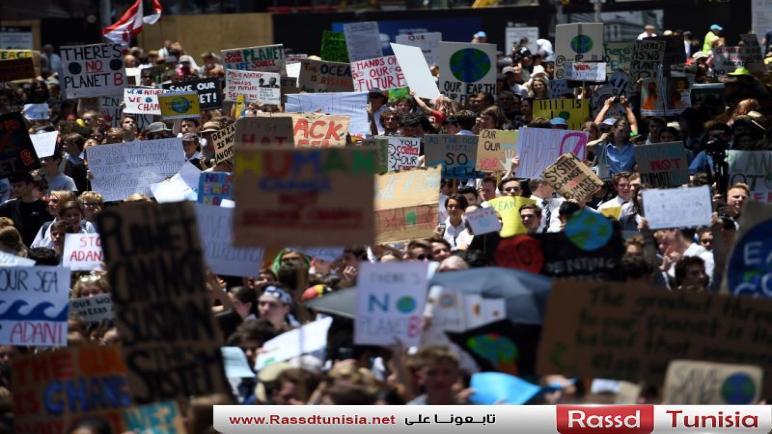 آلاف الطلاب ينظمون احتجاجات في مدن العالم للمطالبة بالتصدي لتغير المناخ