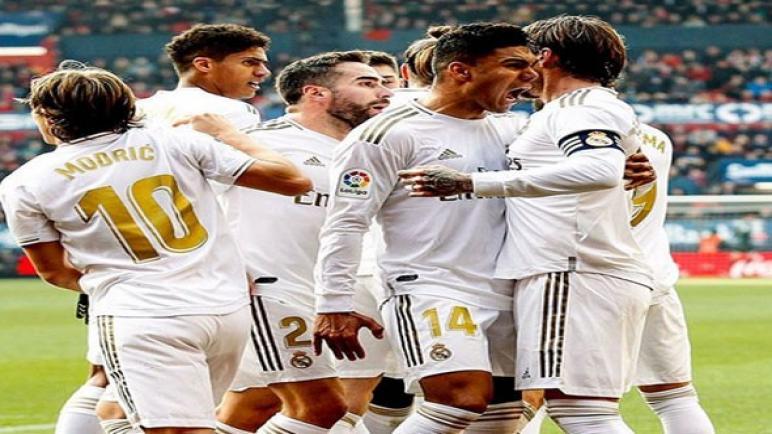 ريال مدريد بصدد مواجهة ديبورتيفو ألافيس والاقتراب خطوة من لقب الليجا
