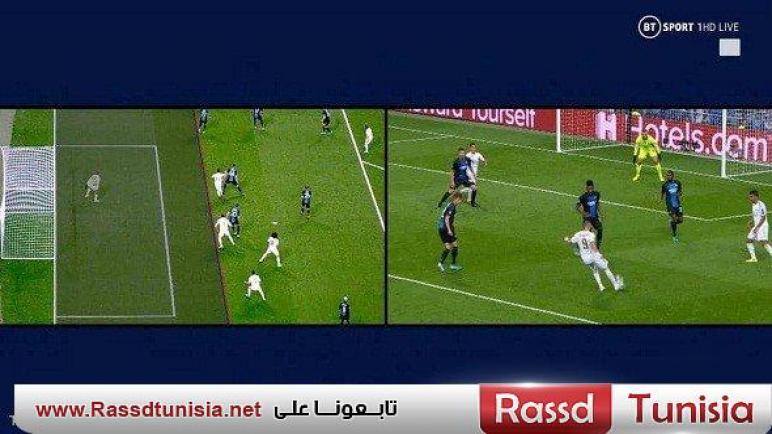 """تعرف على كيفية إحتساب """"الفار"""" هدف ريال مدريد فى شباك كلوب بروج البلجيكي"""