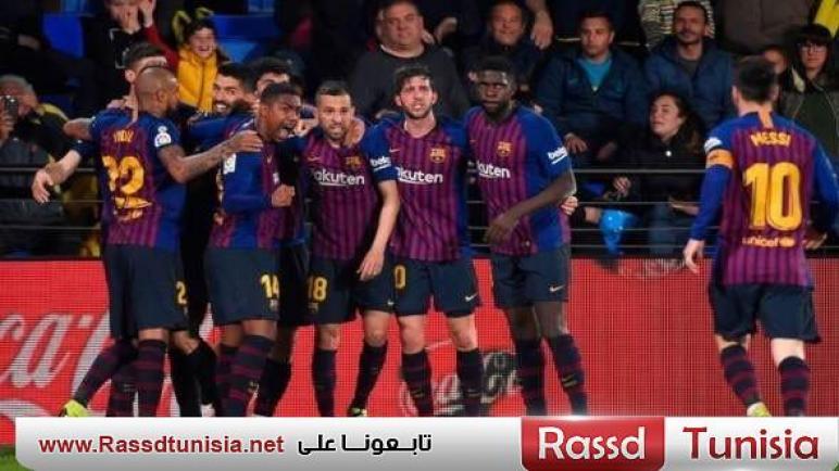 برشلونة يستعيد توازنه ويعود إلى الصدارة بعد تغلبه على سيلتا فيغو