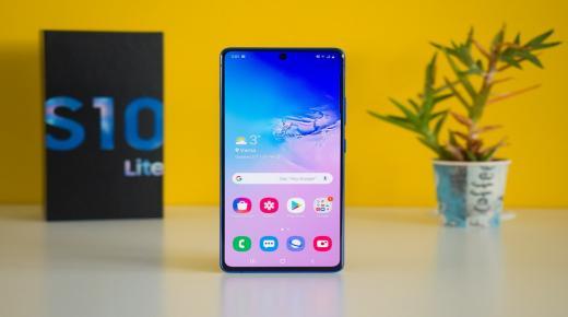 الهاتف Galaxy S10 Lite يبدأ بتلقي تحديث Samsung One UI 2.1
