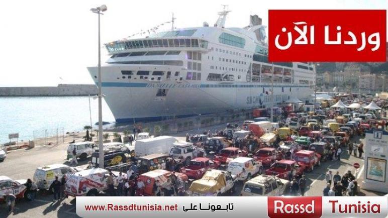 وردنا الآن : كارثة الآن في ميناء حلق الواد بسبب إضراب فجئي و هذا ماحدث للمواطنين
