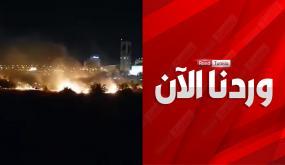 وردنا الآن / العاصمة: حريق في الطريق السيارة تونس المرسى(فيديو)