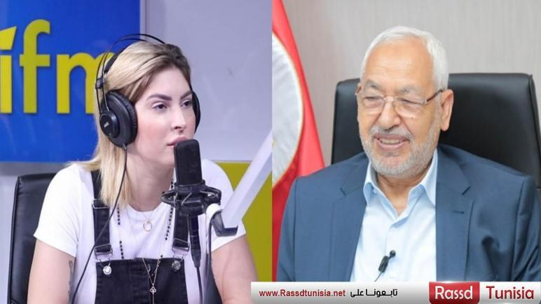 مريم الدباغ : انا نهضاوية و يعجبني راشد الغنوشي لأنو مثقف و محترم (فيديو)