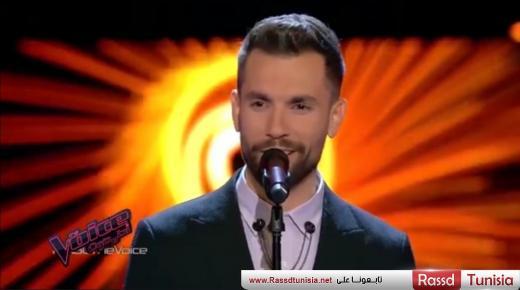 بالفيديو : التونسي مهدي عياشي يقدم عرضا مبهراً و يتأهل إلى نهائي 'The Voice'