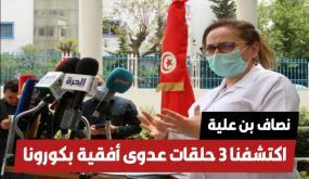 نصاف بن علية : الوضع بالبلاد حرج واكتشفنا 3 حلقات عدوى أفقية بكورونا في تونس (التفاصيل)