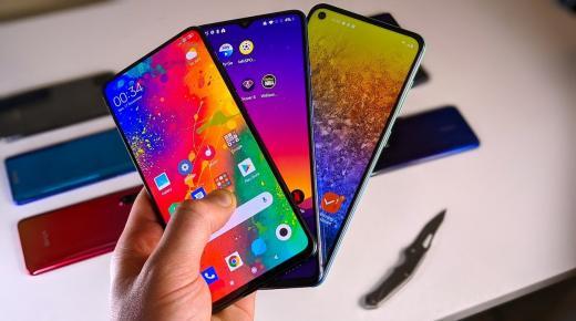 الطلب على الهواتف الذكية الجديدة يتقلص في الربع الأول من العام 2020