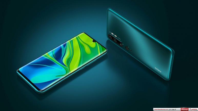 شاشة OLED المستخدمة في الهاتف Xiaomi Mi Note 10 مصنوعة من قبل شركة Visionox