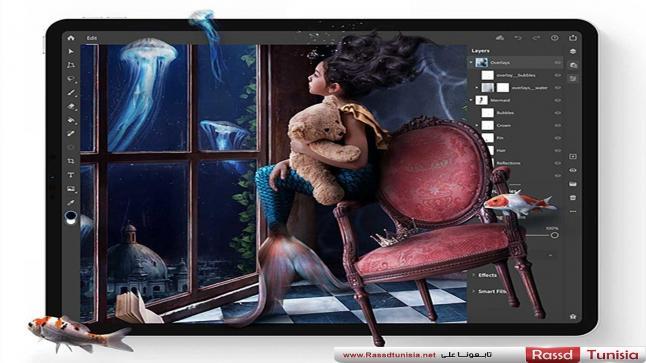 Adobe تُطلق رسميًا تطبيق Photoshop للوحيات iPad