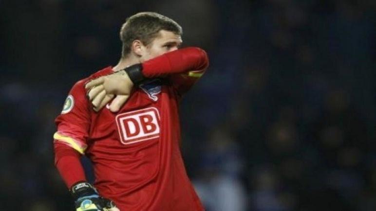 حارس مرمى هيرتا برلين يكشف اعتزاله كرة القدم بسبب مشكلات صحية