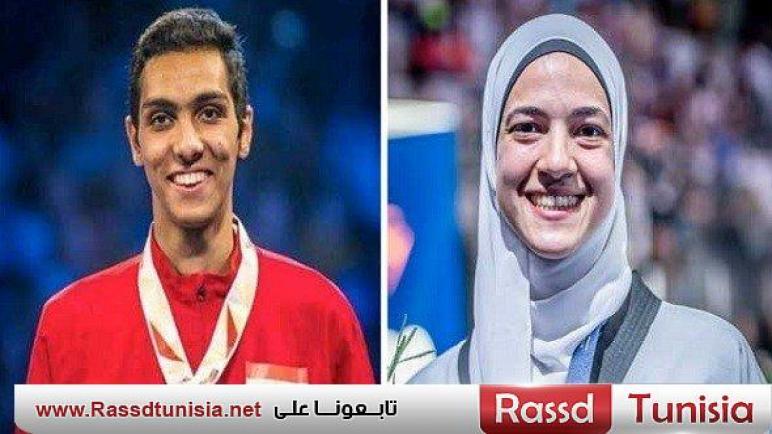 سيف عيسى وهداية ملاك يمثلان مصر في نهائي الجائزة الكبرى للتايكوندو