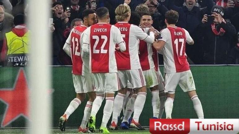 أياكس يعبر هيرنفين ويستعيد صدارة الدوري الهولندي