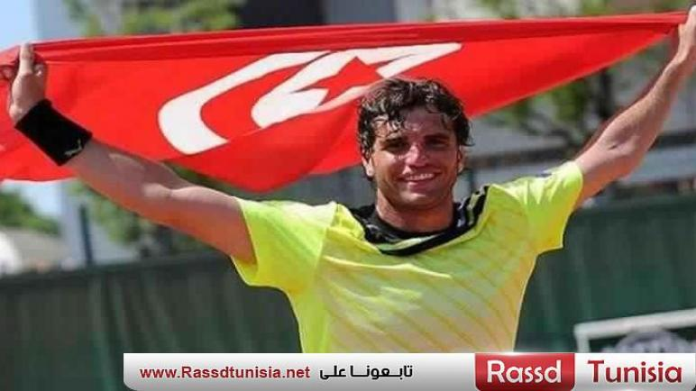 البطل التونسي مالك الجزيري يبلغ نصف نهائي دورة أمريكا الكبرى للتنس