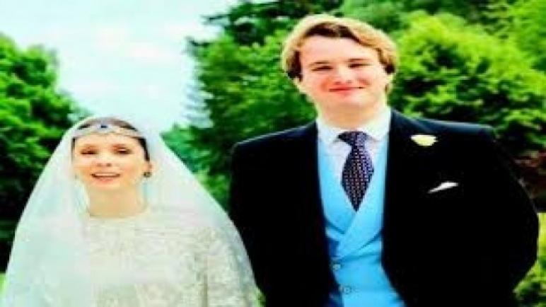 عقد قران الأميرة راية شقيقة ملك الأردن على صحفي بريطاني