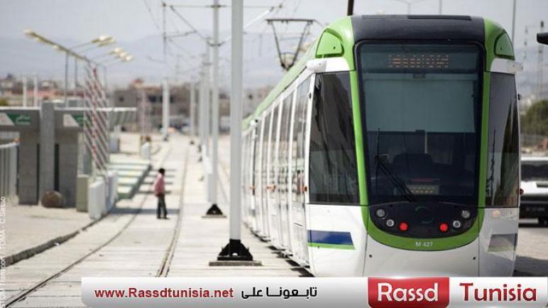 نقل تونس تسير المترو عدد 1 على سكة واحدة بين الكبارية والوردية 6 لمدة تفوق أسبوعين