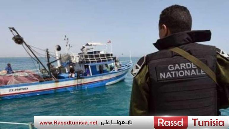 إحباط عملية اجتياز للحدود البحرية خلسة والقبض على 10 أشخاص