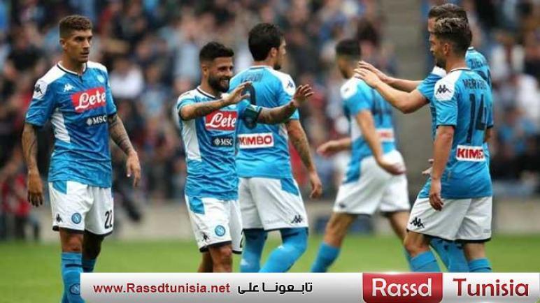 نابولي الإيطالي سيتخذ إجراءات إثر امتناع لاعبيه عن الدخول في معسكر مغلق